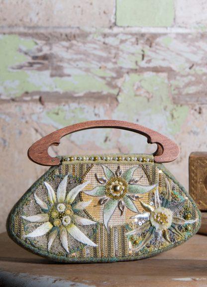 Edelweiss Handbag front design
