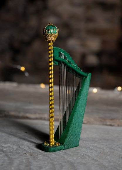 The Wordsworth Harp Needlecase by Jenny Adin-Christie