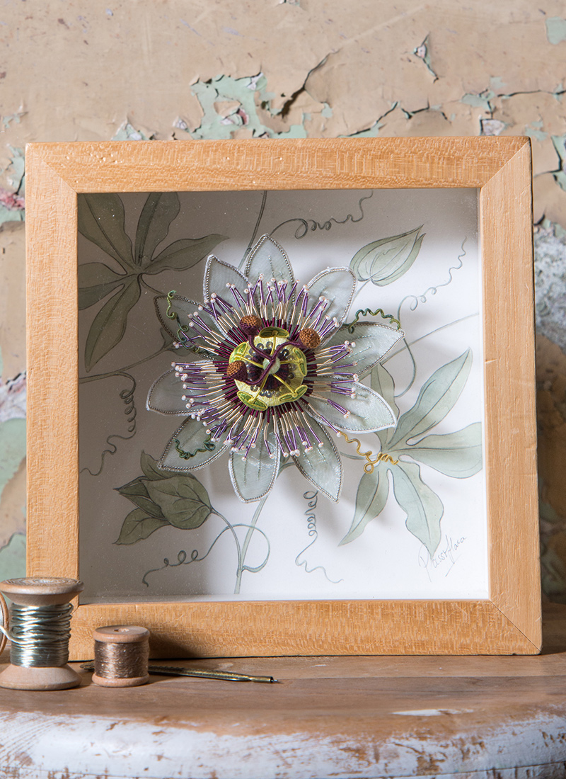 Picture Frame For Passiflora Jenny Adin Christie Specialist